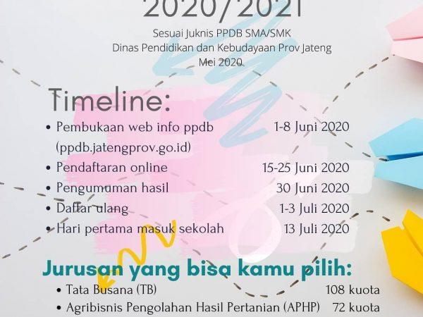 Informasi PPDB SMK sesuai Juknis Dinas Pendidikan dan Kebudayaan